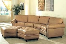 round leather sofa semi circular couch curved sectional sofa you can add compact sectional sofa you
