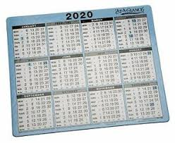 At A Glance Yearly Calendars Details About Dataday 2020 At A Glance Yearly Desk Calendar