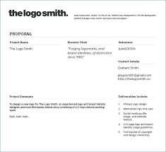 Writing A Graphic Design Proposal Logo Quote Template Layout ...