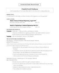 Entry Level Mechanical Engineering Resume Entry Level Mechanical
