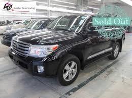 2013 Toyota Land Cruiser Black Clean Title |