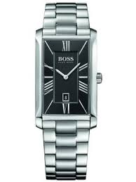 hugo boss watches view the creative watch co range hugo boss men s admiral rectangular classic steel watch