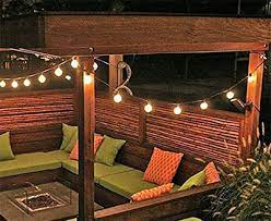best outdoor string lights for patios