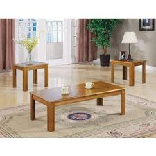 room table displays coaster set driftwood: coaster company veneer parquet  piece end coffee table set