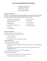 Customer Service Objective Resume Template Objectives For
