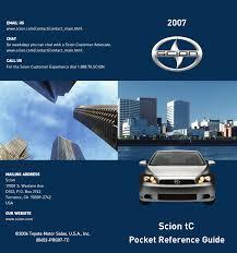2007 Scion Tc Tire Pressure Light Reset Scion 2007 Tc Owner S Manual Manualzz Com