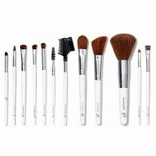 full makeup brush set beautiful e l f cosmetics essential professional plete brush set 12