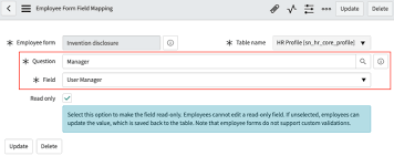 Form For Employee Create An Employee Form Servicenow Docs