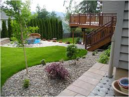 Small Picture Backyards Charming Small Backyard Landscaping Designs Simple