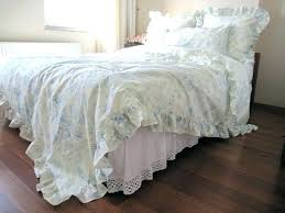 ruffle bed comforter shabby bath and beyond chic white vintage duvet cover from full bloom cottage