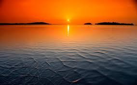 Free download Ocean Sunset Wallpaper HD ...
