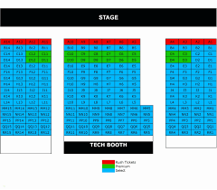 Mccallum Theater Seating Chart 70 Clean Booth Playhouse Seating Chart