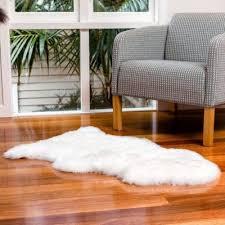 sheepskin rug windward single