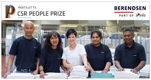 Berendsen er indstillet til CSR People Prize!   CSR.dk