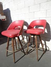 2 mcm swivel bar stools mcm danish chairs mid century seating modern dining chairs midcentury dining set wood seats chair seating