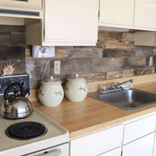 Install Wooden Backsplash in Kitchen Area