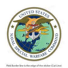 Us Navy Naval Special Warfare Command Bumper Sticker Vinyl Window Decal