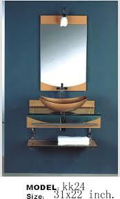 bathroom vanity combo set. Wall Mount Vessel Sink Combo Set Bathroom Vanity A