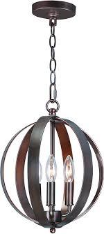 maxim 10030oi provident oil rubbed bronze mini chandelier light loading zoom