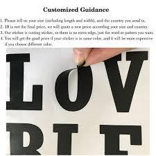 custom made wall stickers send