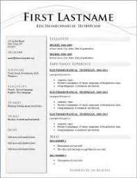 resume format for google google resume format