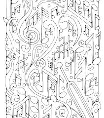 Music Coloring Pictures Music Note Coloring Pages Free Music