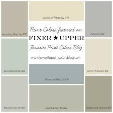 Sherwin Williams Silver Paint Farmhouse Paint Color Palettes Favorite Paint Colors Farmhouse