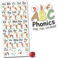 Abc Phonics Sing Sign And Read Big Asl Vertical Wall