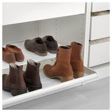 Amazing IKEA KOMPLEMENT Pull Out Shoe Shelf Solid Bottom Prevents Any Dirt From  Falling Outside The