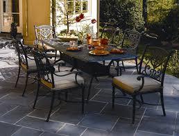 cast aluminum patio furniture cast aluminum outdoor dining set