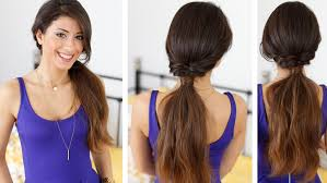 Quick Ponytail Hairstyles Quick And Effortless Ponytail Hairstyle With Luxy Hair Extensions