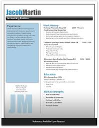 Resume Examples Templates 10 Free Modern Resume Templates Ideas
