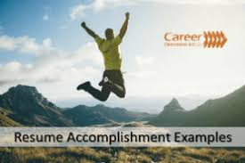 career accomplishments examples 20 resume accomplishment examples ideas to boost your resume