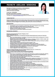 Sample Resume Business Administration awesome Appealing Formula for Wonderful Business Administration 22
