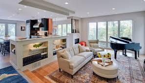 define sunken living room living room