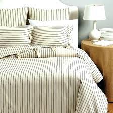 ticking stripe quilt ticking stripe coverlet pinstripe bedding ticking stripe comforter ticking duvet cover