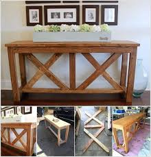 espresso entryway table. 15 Fabulous Diy Entryway Table Ideas Entry Way An X Brace That Is Sure . Black Espresso