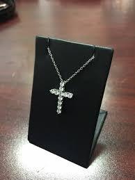 tiffany and co platinum cross pendant small 1 100