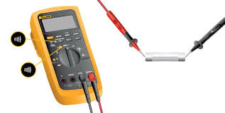 how to test for continuity fluke  at How To Check Wiring Harness With Multimeter