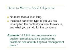 Career Objective On Resume Resume Career Objective Examples Resume Career Objective Sample 62