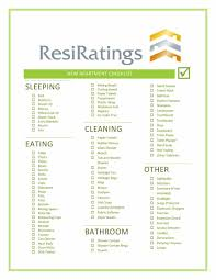 New Apartment Checklist First New Apartment Checklist 24 Essential Templates Template Lab 3