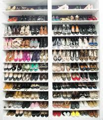 diy shoe racks for closets diy closet shoe rack walking white mold on clothes in closet