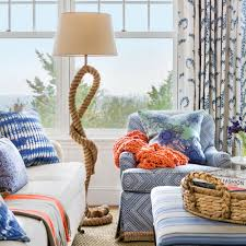 coastal decor lighting. Coastal Decor Lighting. A Masterful Mix Of Blue And Pretty Patterns Meld With Natural Elements Lighting C