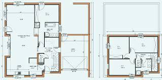 ... Moderne Plan Maison Contemporaine Etage Unique Plan De Maison Etage  Inspirational Plans De Maison Plan De Maison ...