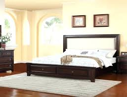 Jeromes Bed Sets Bedroom Diva Upholstered Bed Queen Bed In Graphite ...