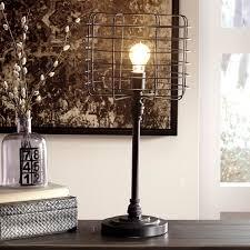 signature design by ashley javan metal table lamp antique black contemporary