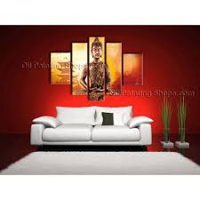 Paintings For Living Room Feng Shui Large Feng Shui Zen Art Contemporary Painting Buddha Oil On Canvas
