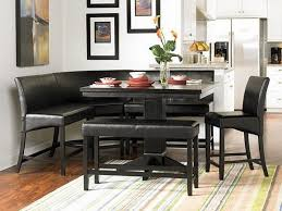 table with bench. dining table with bench black w