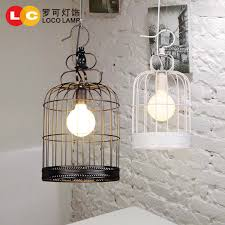 get ations modern chinese iron birdcage lamp chandelier creative personality retro clothing office bedroom meal hotel lighting