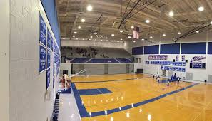gymnasium led lighting retrofit delivers savings with better lighting
